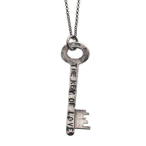 collana pendente chiave